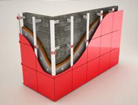 Система крепления вентилируемых фасадов для керамогранита в Оренбурге. Компания Промизоляция