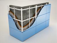Система вентилируемых фасадов для металлической облицовки в Оренбурге