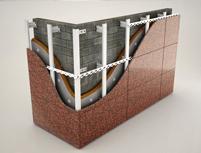 Система вентилируемых фасадов для натурального и искусственного камня в Оренбурге