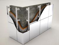 Система фасадов для алюмо-композитных материалов в Оренбурге
